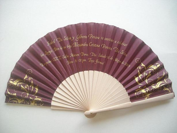 ventail 29 1 coloure - Eventail Personnalis Mariage